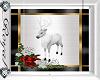 Christmas White Deer