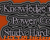 Study Hard/Be Evil BLACK