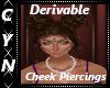 Derivable Cheek Piercing