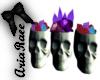 Dark Magic Skulls Crysta
