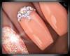 ♛ Goldish Nails