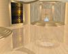 Sunset Gold Dance Room