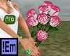 !Em White&Pink Roses 7P