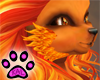 KK~ Fiery Face Fur