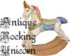 Antique Rocking Unicorn2