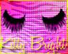 »Black & pink lashes«