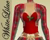 WL~ Red Plaid Xmas Dress