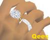 Right-han Diamond ring-s