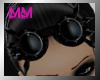 mm black goggles