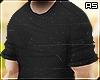 Black Casual Roll Shirt
