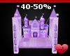 Kids Fantasy Bed Purple