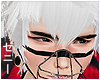 髪 Kuro Bangs White