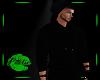 Cowl Hoodie - Black