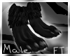 (M)Black Anthro Paw [FT]
