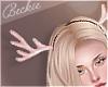 Xmas Antlers - Pink