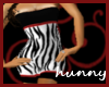 Zebra Tight Short Dress