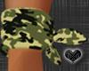 *Wrist Army Bandana
