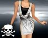 !Cowl Dress ~ Silver