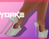 Y| Classy White Heels
