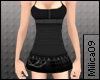 !M Black Punky Dress