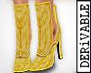 ! Boho Fair Open Boots