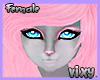 V,Cute Furry|Human Head