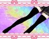 R| Long Socks Black RL