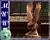3D Carved Eagle Welcome