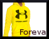 Yellow UnderArmour Hoody