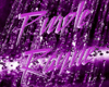 Purple rayne sign