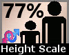 Height Scaler 77% F A