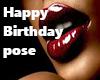 Happy Birthday Pose