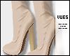Clara   Creme Boots