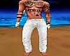 G! Men Pants White