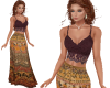 TF* BOHO Cami & Skirt