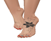 Tattoo Feet *Flower