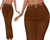 TF* Pants with Belt Rust