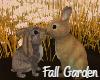 Fall Garden Bunnies