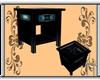 Tealicious End Table