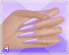 A| Long Purple Nails
