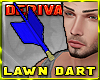~R Lawn Dart in Shoulder