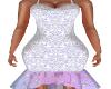 Belle Lilac Lace Dress