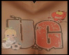 Jake custom chest tat