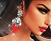 Bali Red Earrings