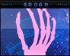Poseless Hand Peda-Pink