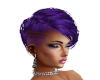Hair Purple Short Lizzy