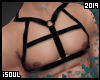 f| Black straps