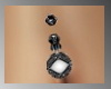 [ves]Pearl belly ring