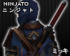 ! Ninja Katana [Back]