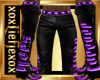 [L] HERS Purple Pants M